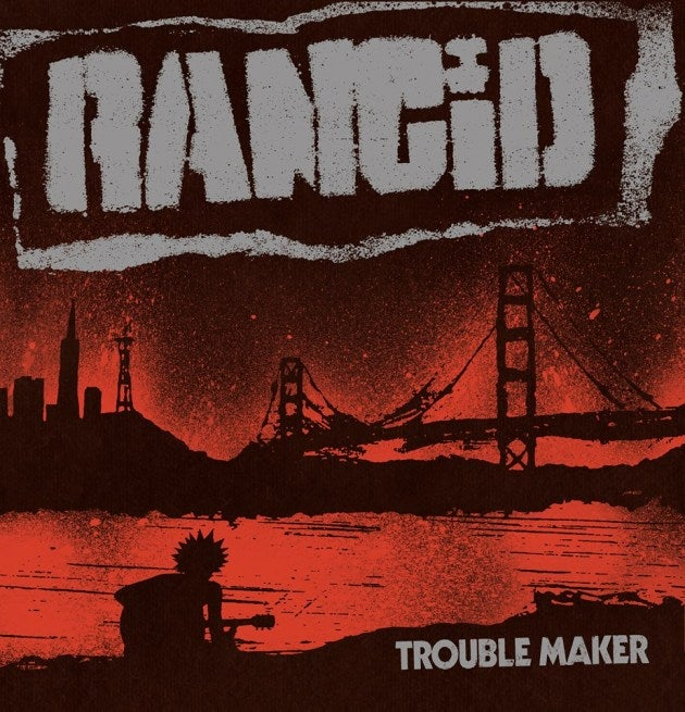 Image of Rancid - Trouble Maker LP+7""