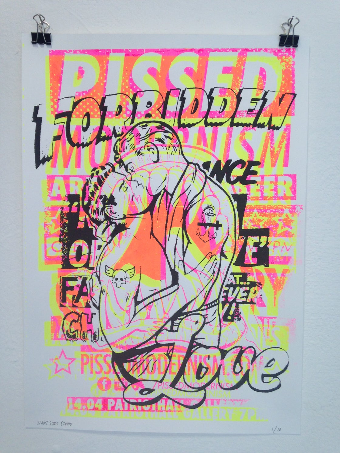Image of Forbidden Lovers Screen Print