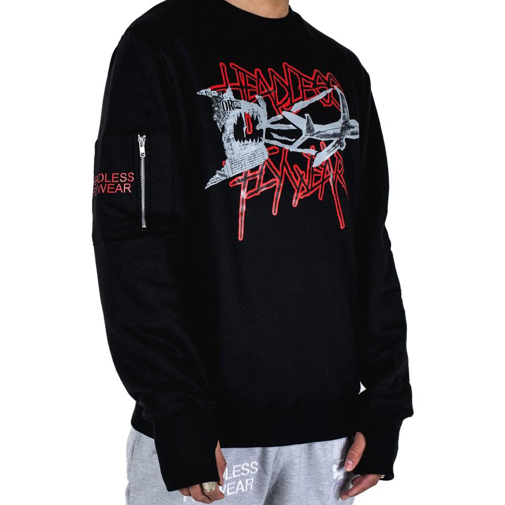 Image of 'Fly or Die 2' Crewneck Sweatshirt