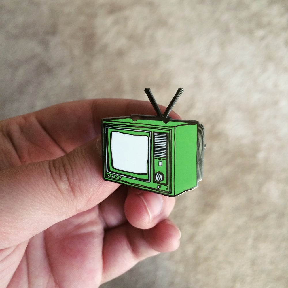 Image of TV Enamel Pin