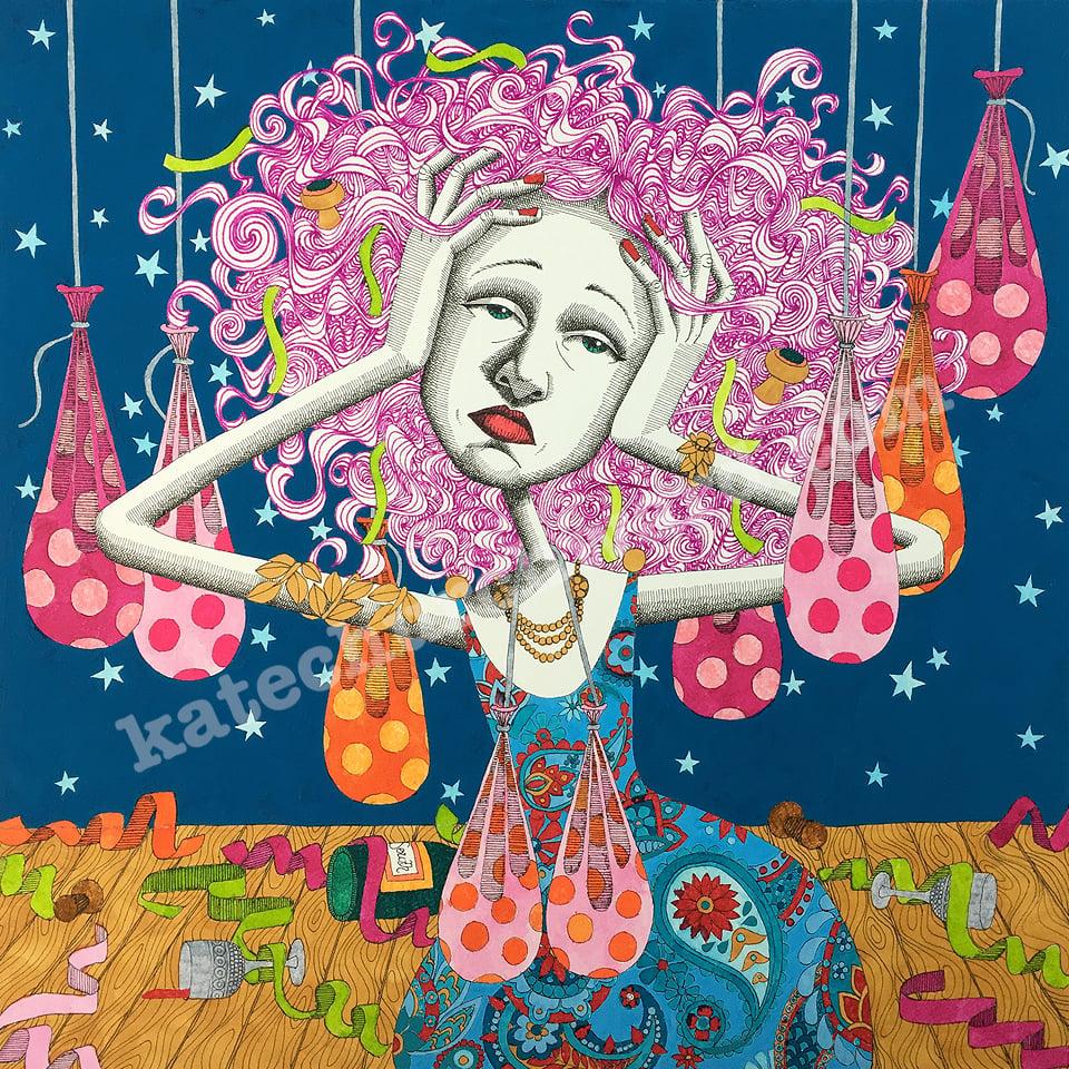 Image of Goddess #22 - Giclee print (A3)