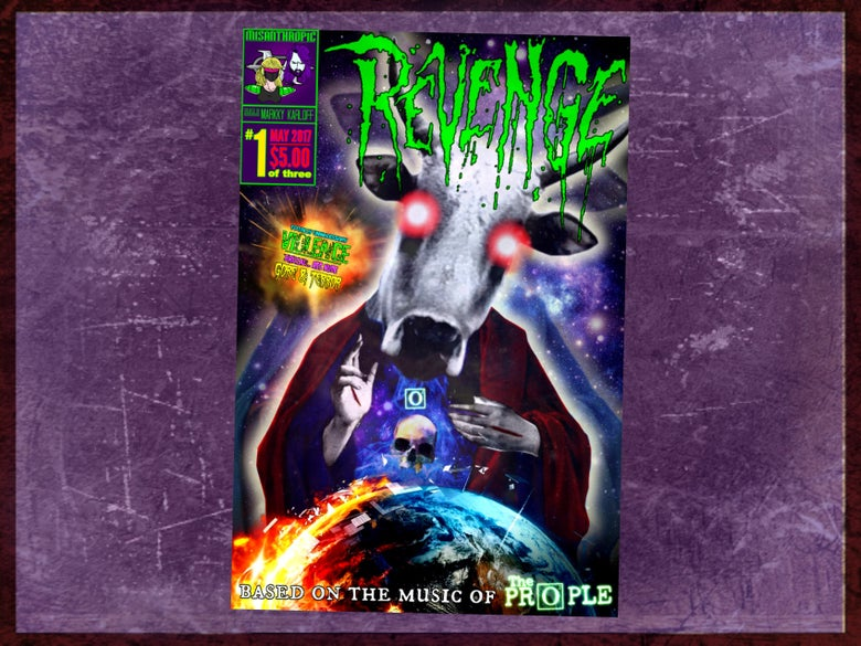 Image of REVENGE #1 - Official Comic Book Adaption
