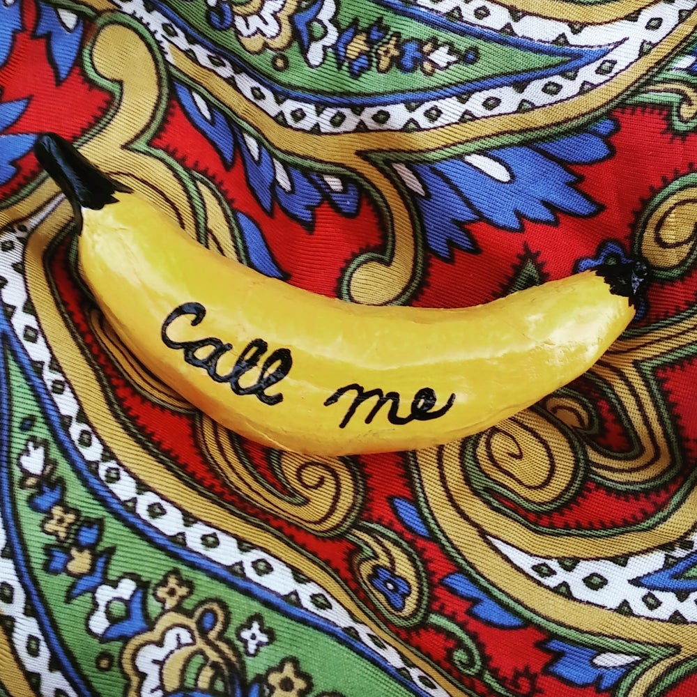 Image of Call Me Banana Brooch