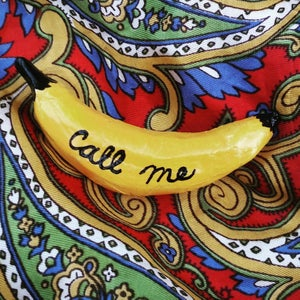 "Image of ""Call Me"" Banana Brooch"