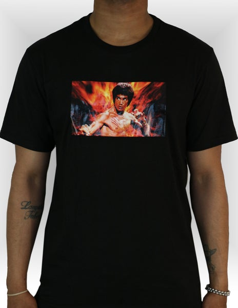 Image of Bruce Lee Tee - Black