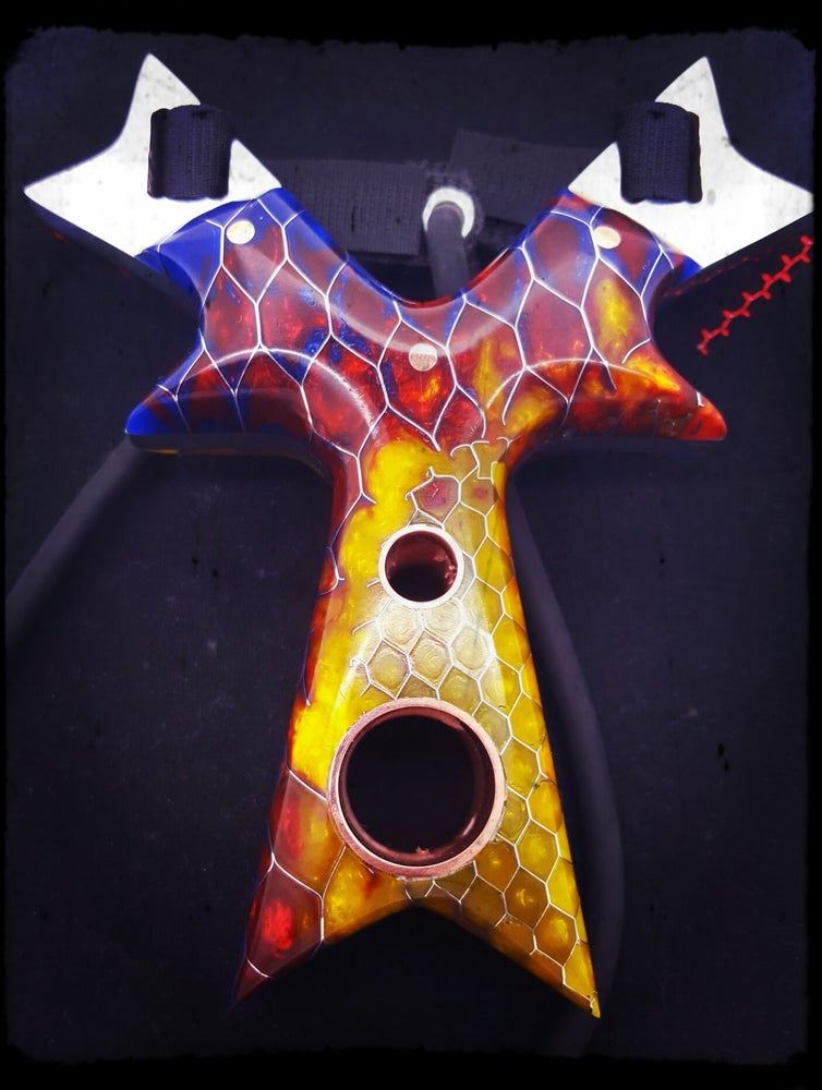 Image of Sunflower Kraken Slingshot with Aluminum Core