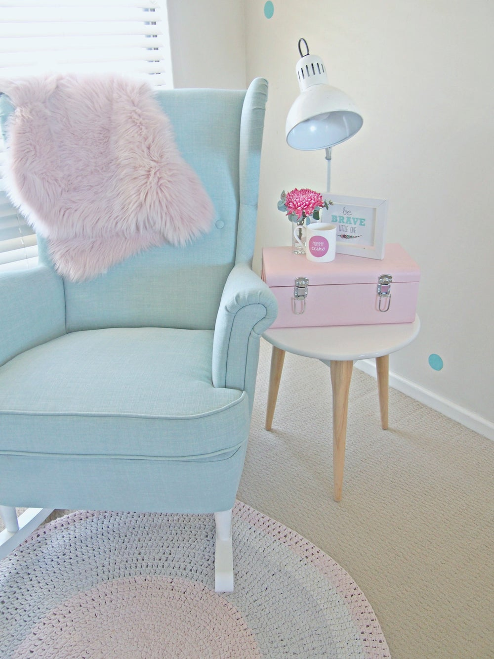 Image of Rocking Chair Conversion Kit [White] - Custom Order