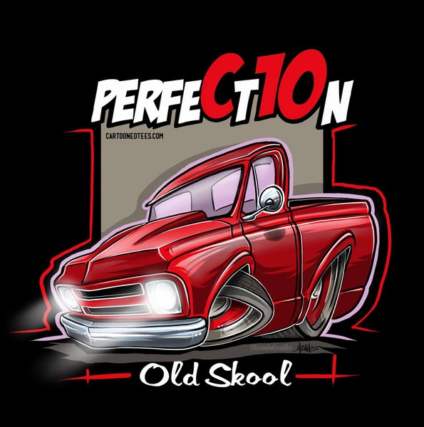 Image of Old Skool  67 Perfection Red