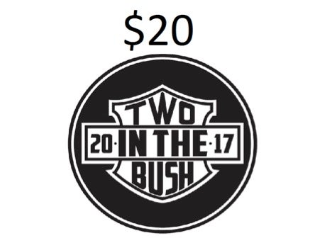 Image of Two in the Bush - Limited Edition Patch