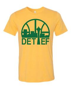 Image of Detlef Schrempf Sonics Mashup T-Shirt