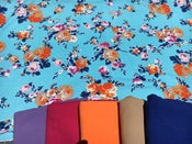 Image of Cotton Spandex - PANTONE Spring Flowers