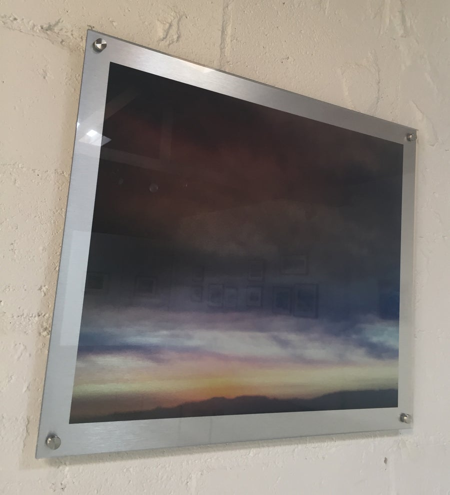 "Image of Layered Sky  23"" x 23"""