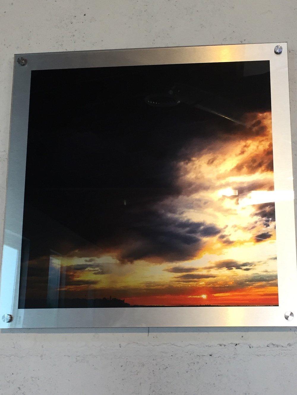 "Image of Dark Clouds   23"" x 23"""