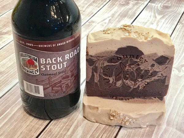 Image of Oatmeal Stout Goat Milk & Beer Soap