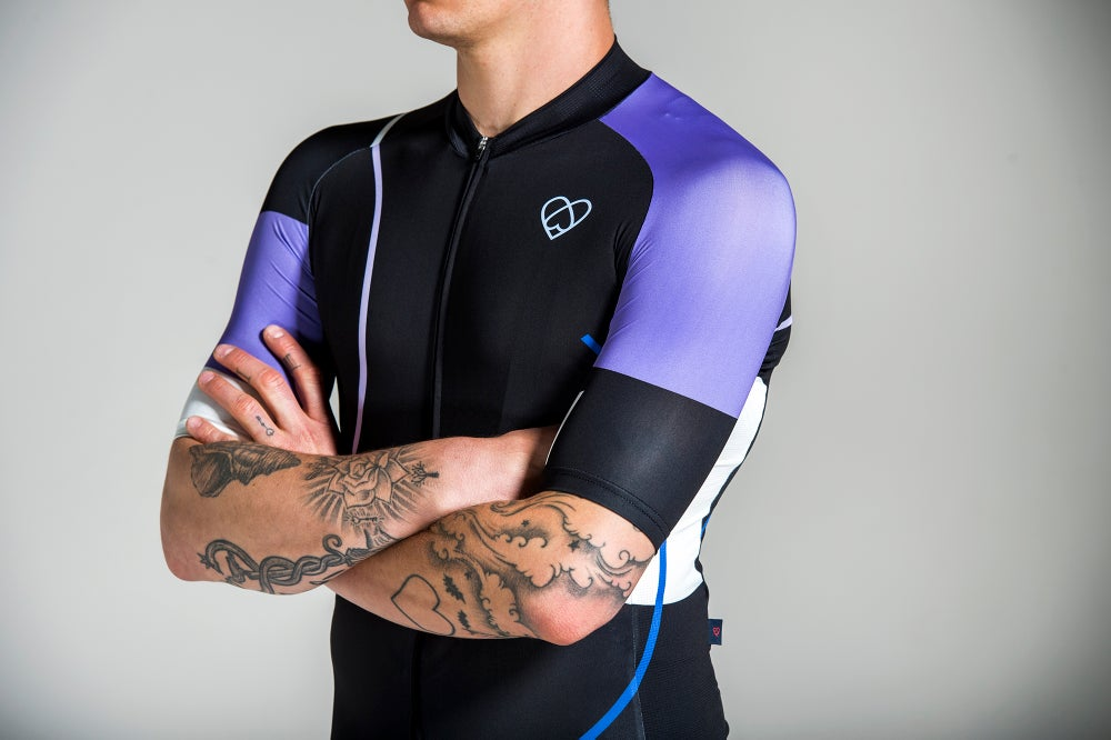 Image of RETROFUTUR JERSEY BLACK (MEN)