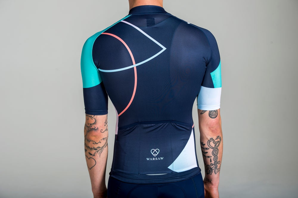 Image of RETROFUTUR JERSEY NAVY (MEN)