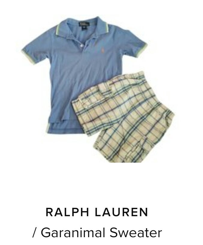 Image of Ralph Laren Polo/ Shorts to match