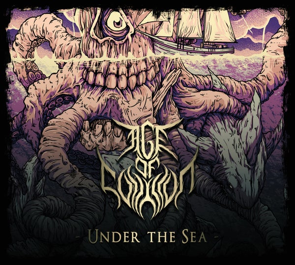 """Image of """"Under the Sea"""" EP 2017 digipack"""