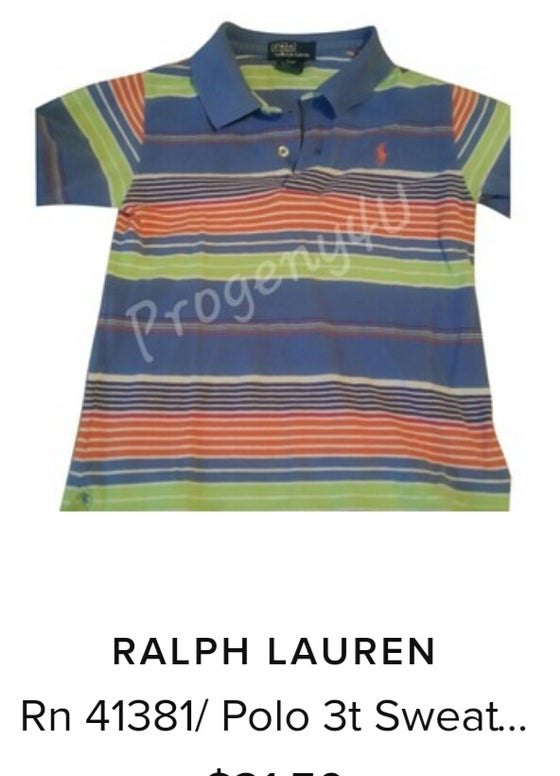 Image of Ralph Lauren short sleeve polo