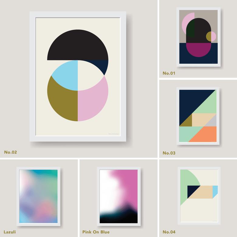 Image of SM Print Series – Larger Size Unframed