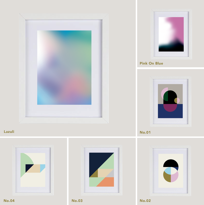 Image of SM Print Series – Smaller Size Framed