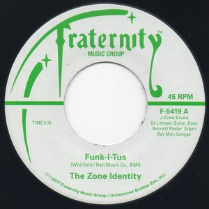 "Image of Funk-I-Tus / Let The Music Take Your Mind - 7"" Vinyl"