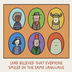Image of GREETINGS CARD - 'Smile'
