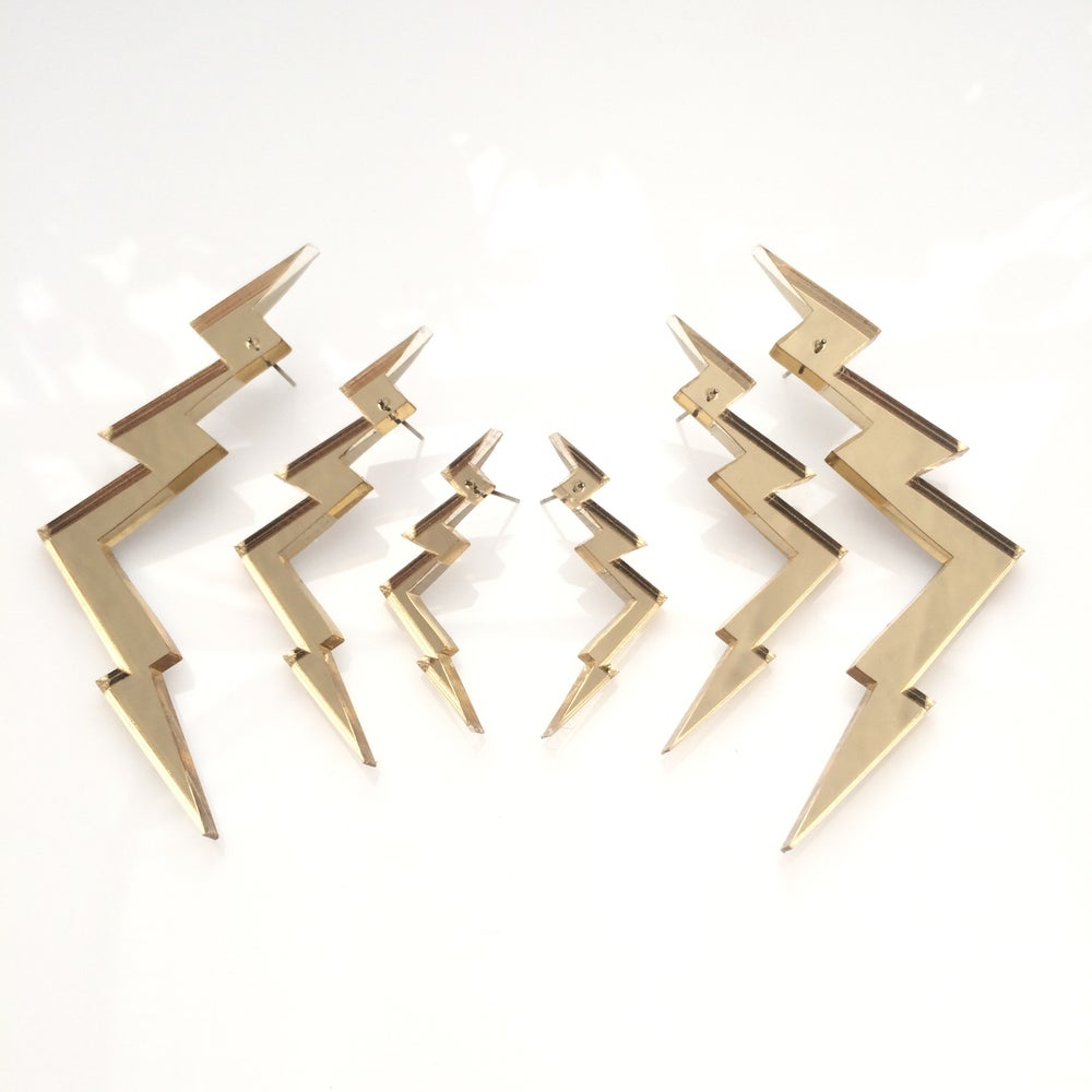 Image of Náušnice / Earrings Thunder3