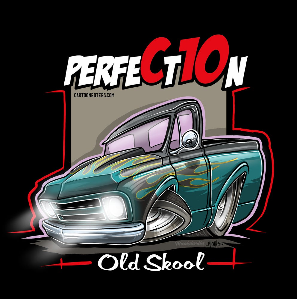 Image of Old Skool 67 Perfection Flames