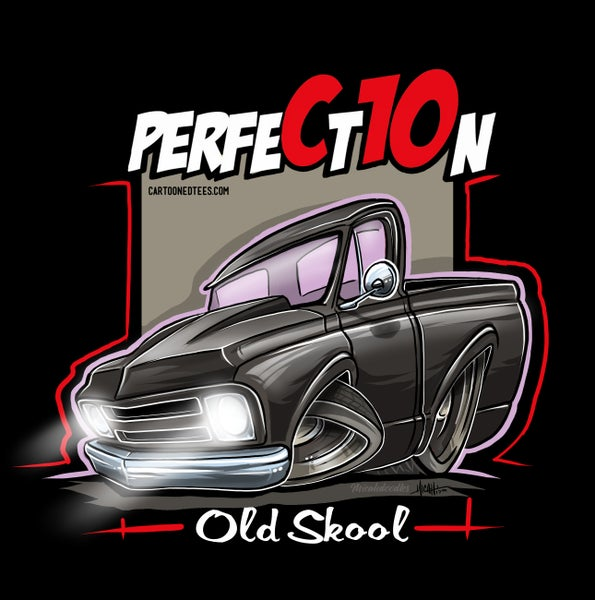Image of Old Skool 67 Perfection Black