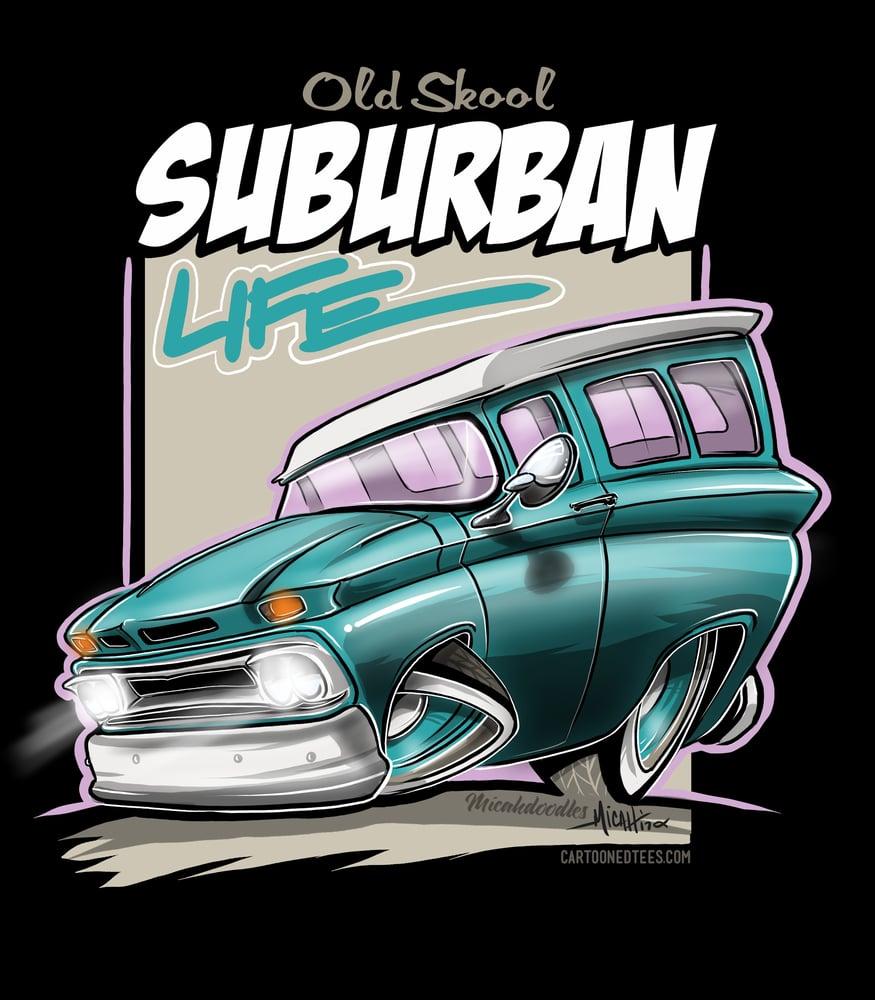 Image of Suburban Life Teal