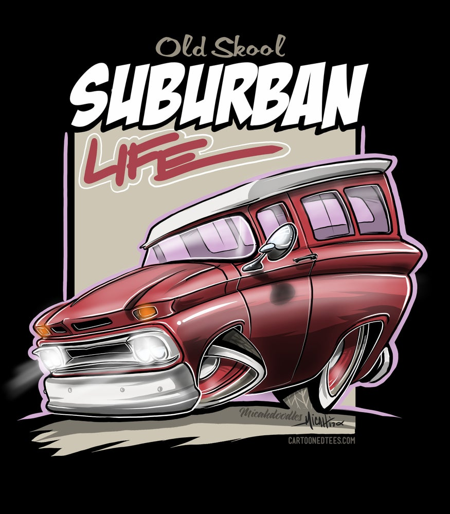 Image of Suburban Life Red