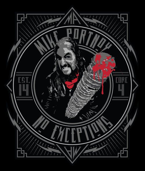 "Image of Mike Portnoy ""No Exceptions"" T-Shirt"