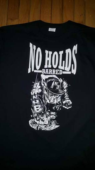 Image of NO HOLDS BARRED T SHIRT (IN STOCK)