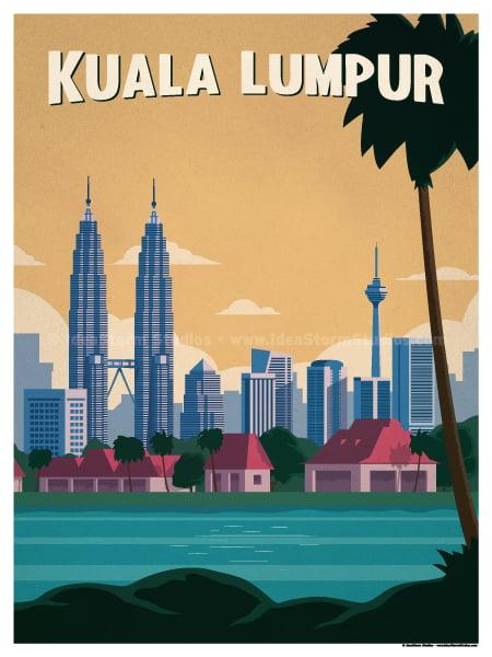 Image of Kuala Lumpur Poster