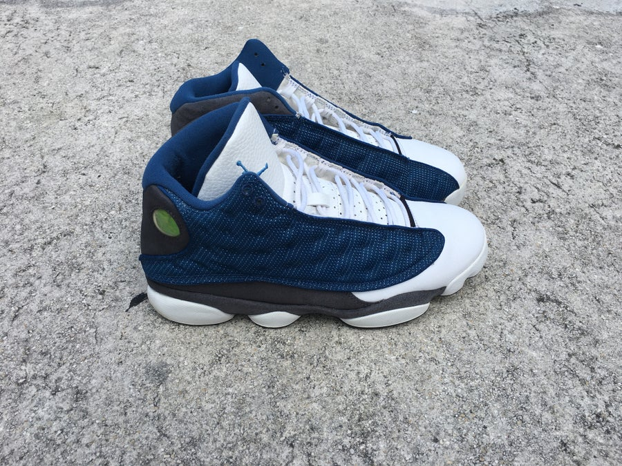 "Image of AIR JORDAN 13 RETRO ""FLINT"" Pre-owned"""