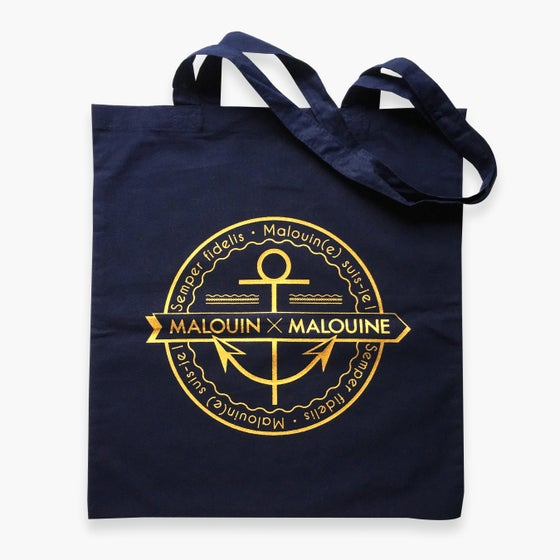 Image of TOTE BAG NAVY