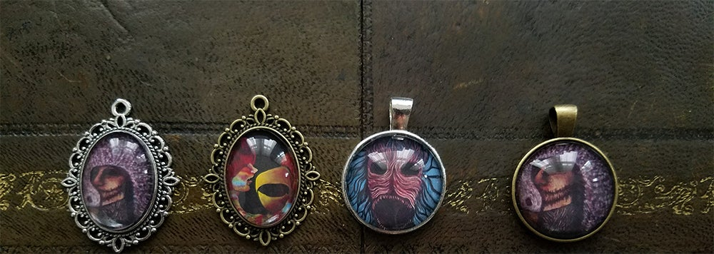 Image of Painting Pendants