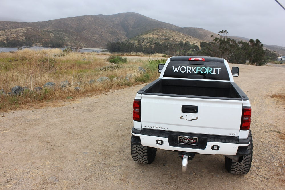 Image of Extra Large WORKFORIT Decal