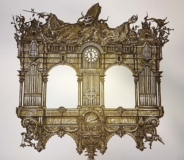 Image of GHOST 'Organ' Artist proof print no. AP 1-2/3