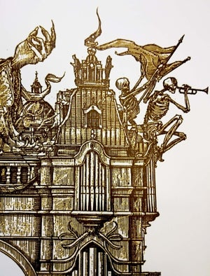 Image of GHOST 'Organ' Artist proof print no. AP 1-2/3