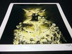 Image of 'Black Phillip' miniature artprint