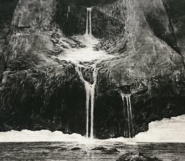 Image of 'Unortheta' miniature artprint