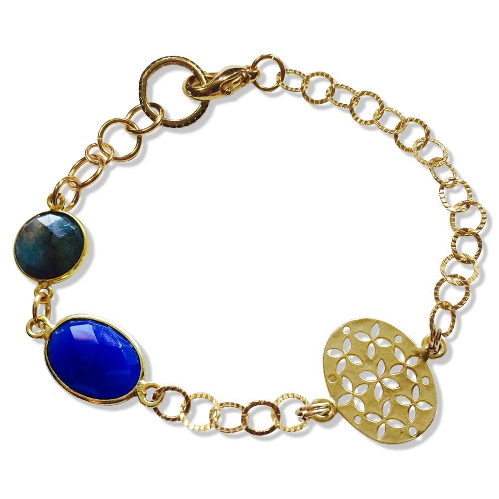 Image of BECCA BLUE ONYX BRACELET