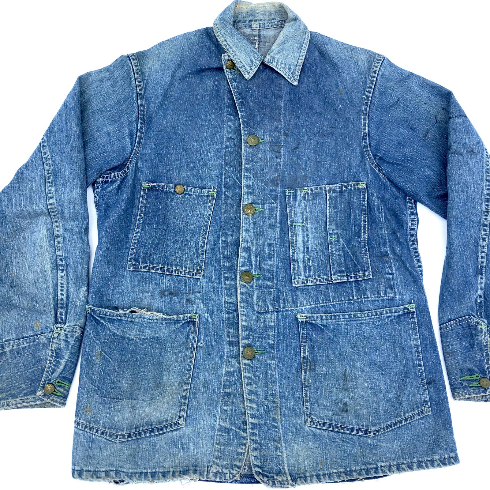 Image of 1940's OSHKUSH B'GOSH CHORE JACKET