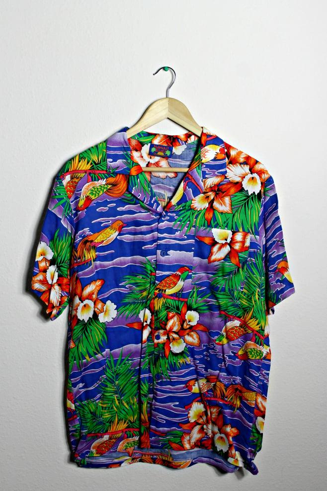 Image of Tropical Hawaiian shirt