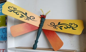 Image of Summer Dragon Fly Paint Class