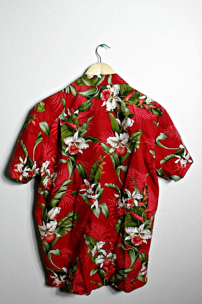 Image of Red Hawaiian Shirt