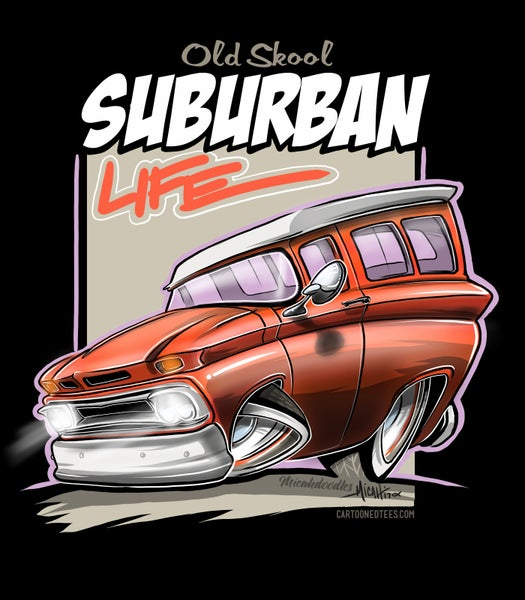 Image of Suburban Life Orange