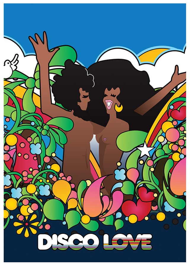 Image of DISCO LOVE 2 A3 POSTER